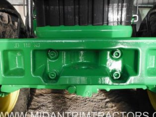 John Deere 110kg Front Weight Carrier/Frame