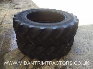 Pair of Goodyear 16.9 x 38 Radial Tyres