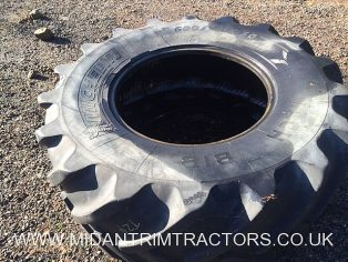 One of used Michelin MachXBib 600/70 x 30 Tyre