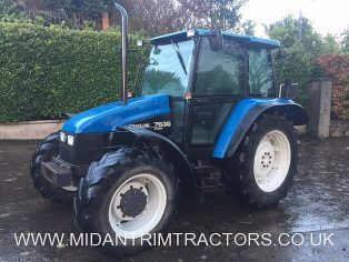 1996 New Holland 7635 4wd Dual Command c/w Air-Con