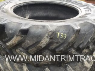 Pair OF GoodYear Optitrac 460/85 x 38(18.4 x 38) tyres