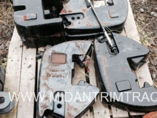 Case-IH front weight set