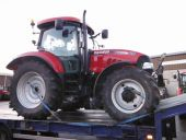2010 Case-IH Maxxum 125 Multi-Controller being collected for delivery to Liverpool, England.