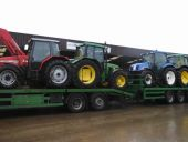 Another Load to Local NI Farmers. MF & Loader to Belfast, JD to Co. Tyrone, NH for Co. Armagh and a JD & Loader to Co. Down.
