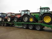 Another Load Heads South (a John Deere to Fermanagh, a Massey Ferguson to Co. Monaghan, a Fiat to Co. Longford and a New Holland to Co.Galway).