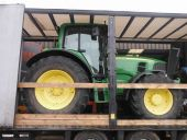John Deere 6830 Being Collected for delivery to Poland